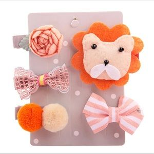 Other - 5Pcs Kids, Infants, animal hair clips !